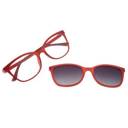 Armação Para Óculos De Grau Feminino Chilli Beans Multi Rosa Polarizado LV.MU.0356-2013