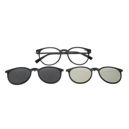Armação Para Óculos De Grau Feminino Chilli Beans Multi Azul Escuro Polarizado LV.MU.0357-0190