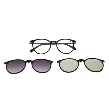 Armação Para Óculos De Grau Feminino Chilli Beans Multi Preto Polarizado LV.MU.0357-2001