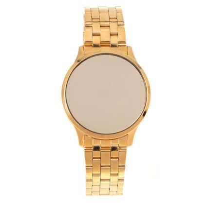 Relógio Digital Touch Feminino Chilli Beans Dourado RE.MT.1071-2121