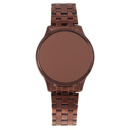 Relógio Digital Touch Feminino Chilli Beans Marrom RE.MT.1071-0202