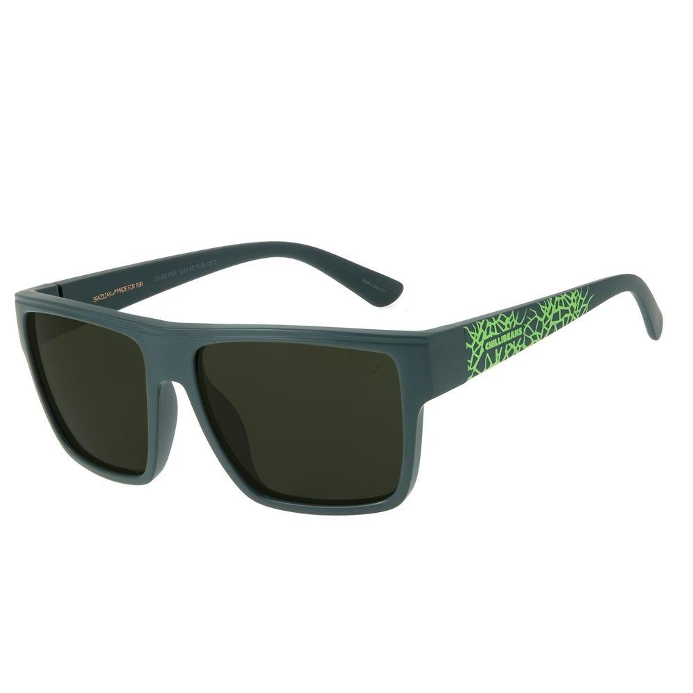 Óculos de Sol Infantil Marvel Hulk Quadrado Verde OC.KD.0664-1515