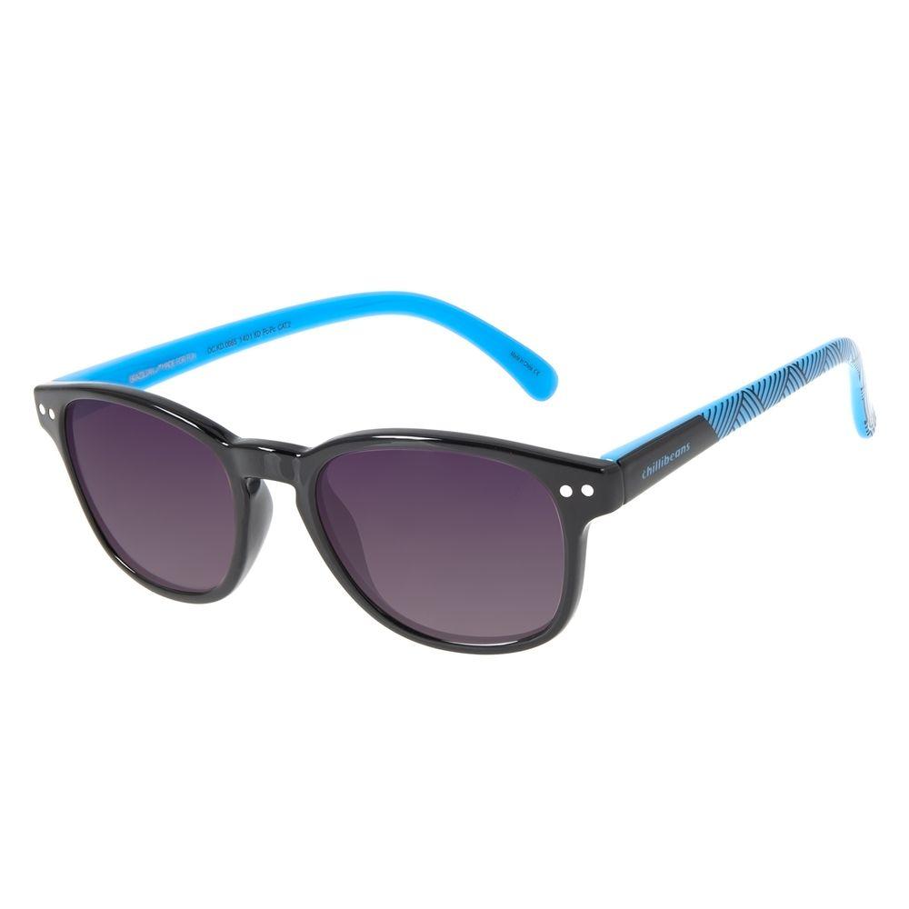 Óculos de Sol Infantil Marvel Pantera Negra Preto OC.KD.0665-1401