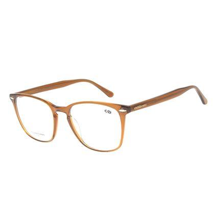 Armação Para Óculos De Grau Feminino Chilli Beans Quadrado Marrom LV.AC.0655-0202