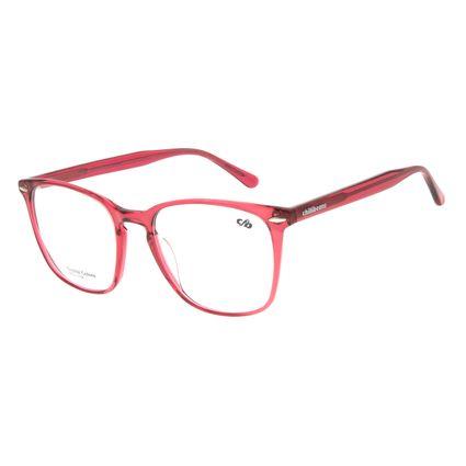 Armação Para Óculos De Grau Feminino Chilli Beans Quadrado Rosa LV.AC.0655-1313