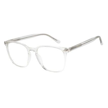 Armação Para Óculos De Grau Feminino Chilli Beans Quadrado Transparente LV.AC.0655-3636