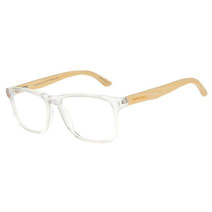 Armação Para Óculos De Grau Masculino Chilli Beans Bamboo Quadrado Transparente LV.AC.0673-3661