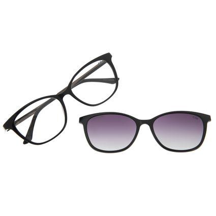 Armação Para Óculos de Grau Feminino Chilli Beans Cat Multi Preta LV.MU.0511-2001