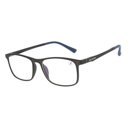 Armação Para Óculos de Grau Masculino Chilli Beans Retangular Preto LV.IJ.0184-0101