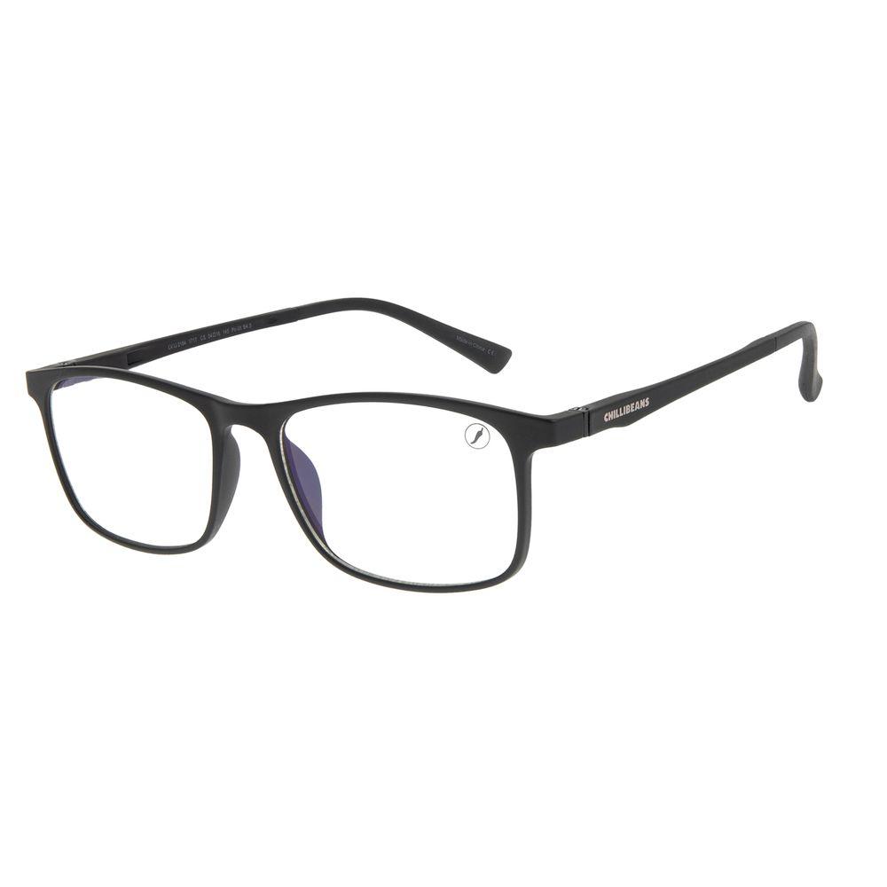 Armação Para Óculos de Grau Masculino Chilli Beans Retangular Vinho LV.IJ.0184-1717