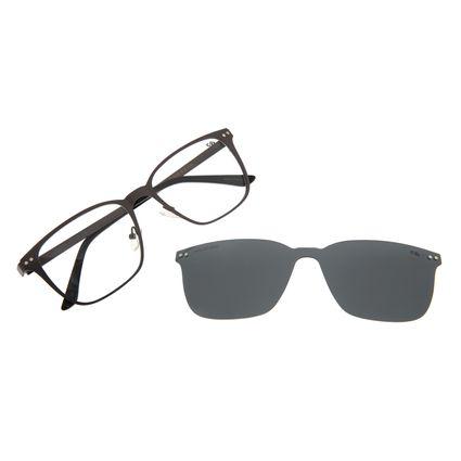 Armação Para Óculos de Grau Masculino Chilli Beans Multi Polarizado Metal Fosco LV.MU.0488-0131