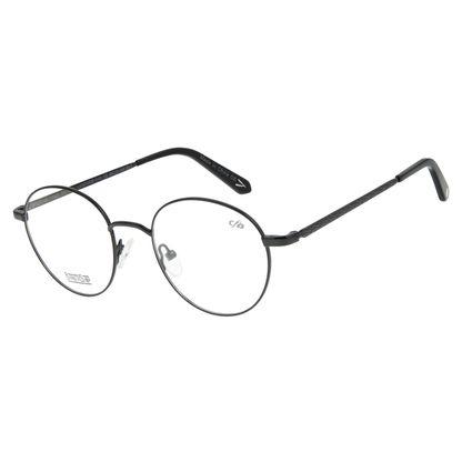 Armação Para Óculos de Grau Masculino Barber Shop Preto LV.MT.0459-0101
