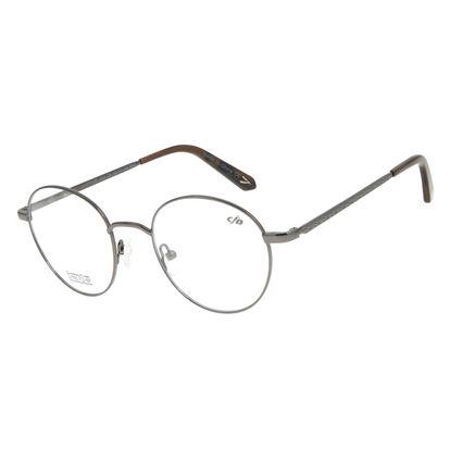 Armação Para Óculos de Grau Masculino Barber Shop Ônix LV.MT.0459-2222