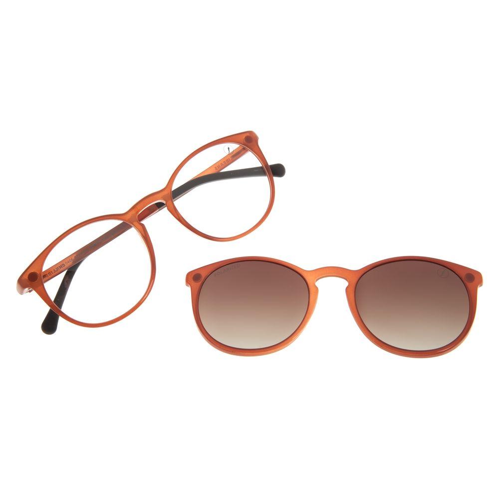 Armação Para Óculos De Grau Unissex Chilli Beans Essential Multi Bege Polarizado LV.MU.0406-5723