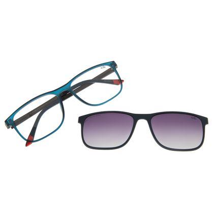 Armação Para Óculos De Grau Masculino Chilli Beans Essential Multi Azul Polarizado LV.MU.0403-2008