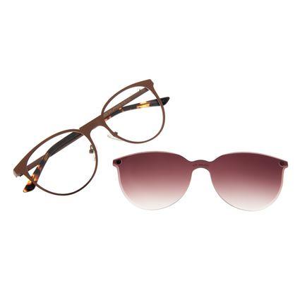 Armação Para Óculos de Grau Feminino Chilli Beans Multi Gatinho Dourado LV.MU.0332-5721