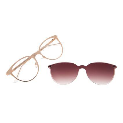 Armação Para Óculos de Grau Feminino Chilli Beans Multi Gatinho Rosé LV.MU.0332-5795