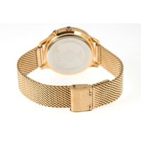 Relógio Digital Feminino Chilli Beans Facetado Dourado RE.MT.0990-9521.2
