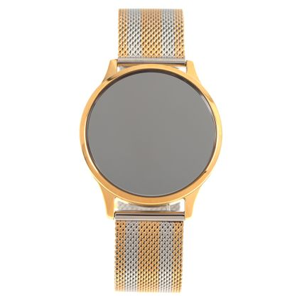 Relógio Digital Touch Feminino Chilli Beans Double Plating Dourado RE.MT.1072-0721