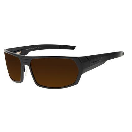 Óculos de Sol Masculino Chilli Beans Esportivo Marrom Polarizado OC.AL.0231-0231