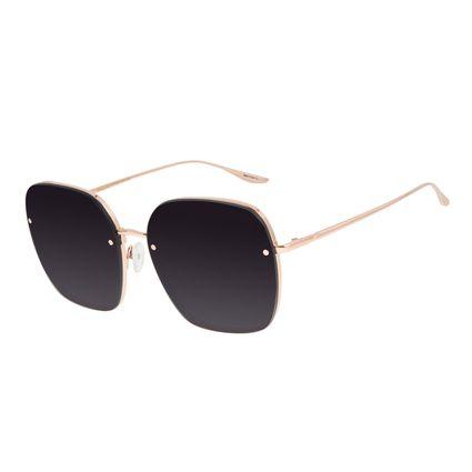 Óculos de Sol Feminino Alexandre Herchcovitch Banhado a Ouro Degradê OC.MT.2957-2095