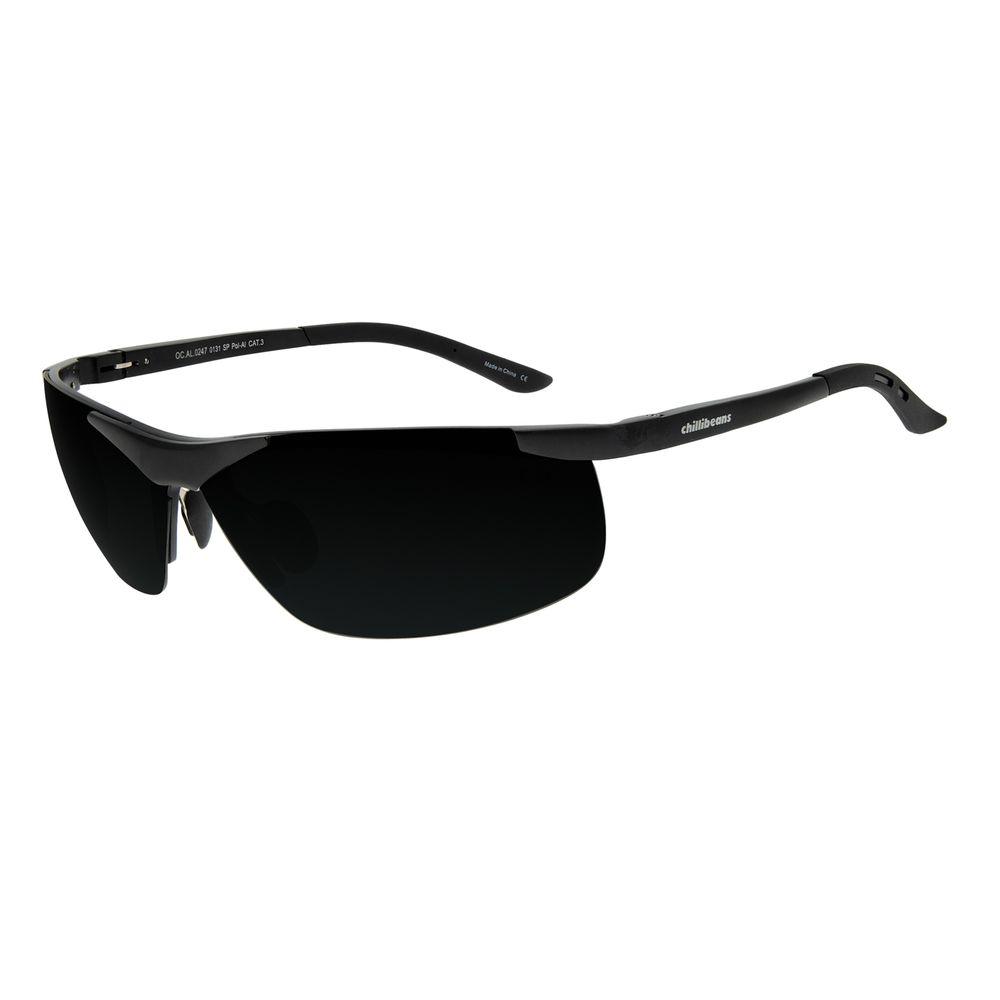 Óculos de Sol Masculino Chilli Beans Sport Flutuante Fosco Polarizado OC.AL.0247-0131