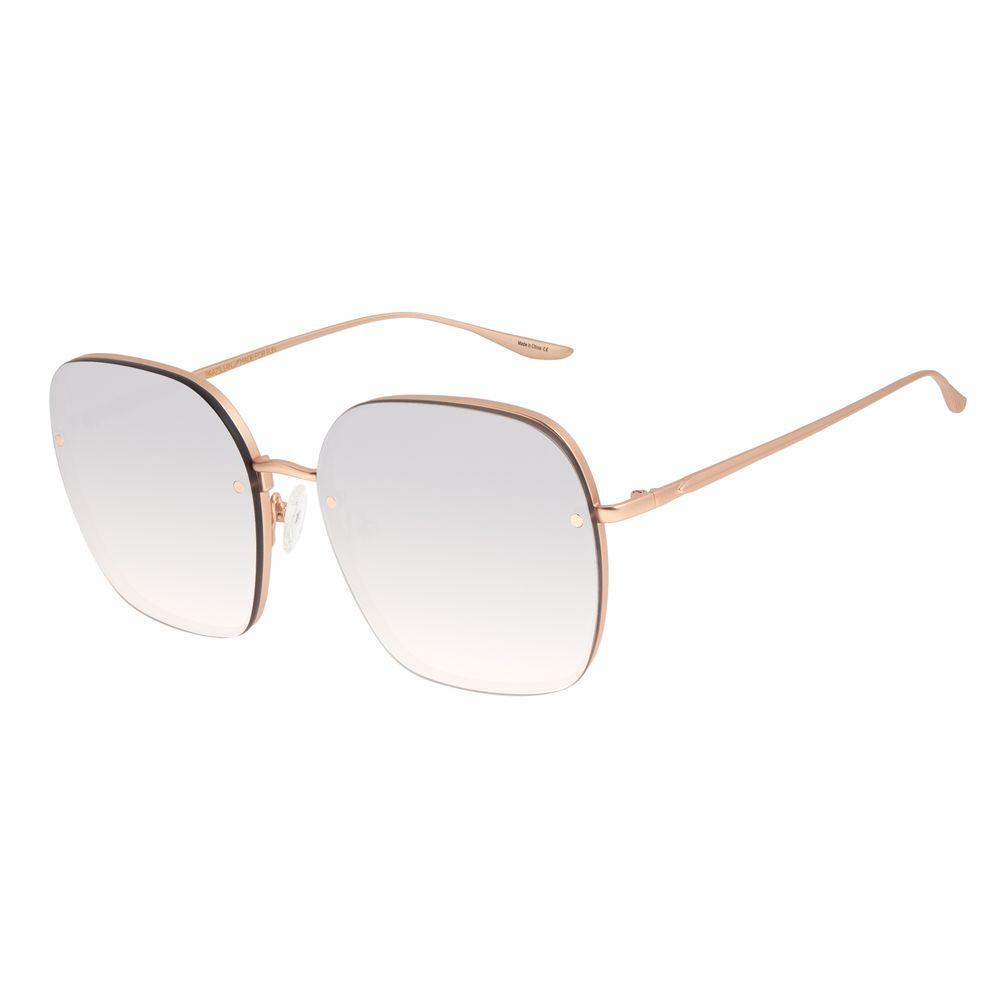 Óculos de Sol Feminino Alexandre Herchcovitch Banhado a Ouro Rose OC.MT.2957-5795