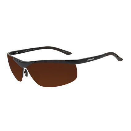 Óculos de Sol Masculino Chilli Beans Sport Flutuante Marrom Polarizado OC.AL.0247-0201
