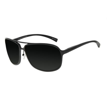 Óculos de Sol Masculino Chilli Beans Sport Quadrado Fosco Polarizado OC.AL.0248-0131