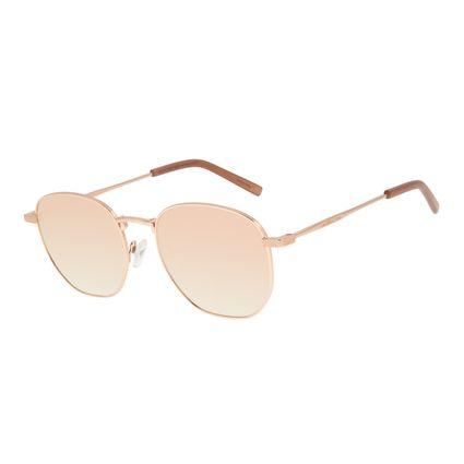 Óculos de Sol Feminino Chilli Beans Quadrado Rose OC.MT.2923-9595