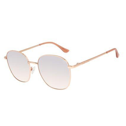 Óculos de Sol Feminino Chilli Beans Rose Banhado a Ouro OC.MT.2917-5795