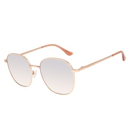 Óculos de Sol Feminino Chilli Beans Rosé Banhado a Ouro OC.MT.2917-5795