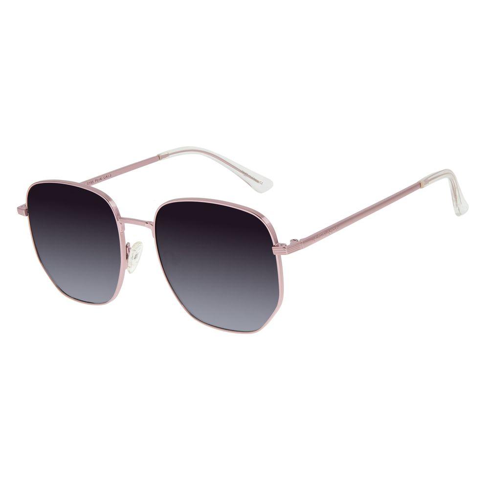Óculos de Sol Unissex Chilli Beans Quadrado Rosé OC.MT.2901-0195