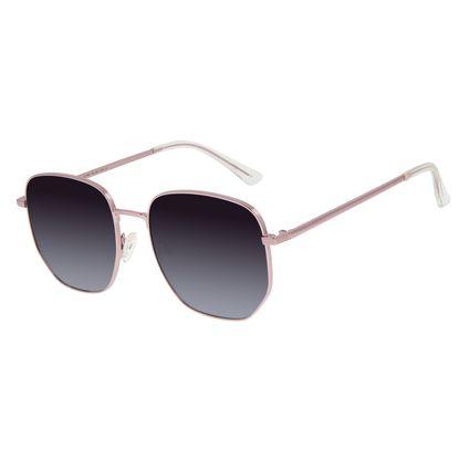 Óculos de Sol Unissex Chilli Beans Quadrado Rose OC.MT.2901-0195