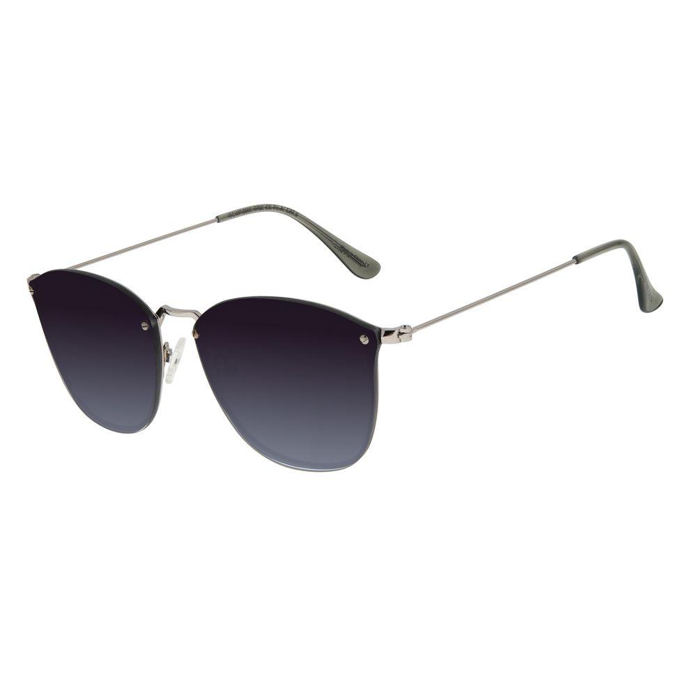 Óculos de Sol Unissex Chilli Beans Redondo Ônix OC.MT.2900-5722
