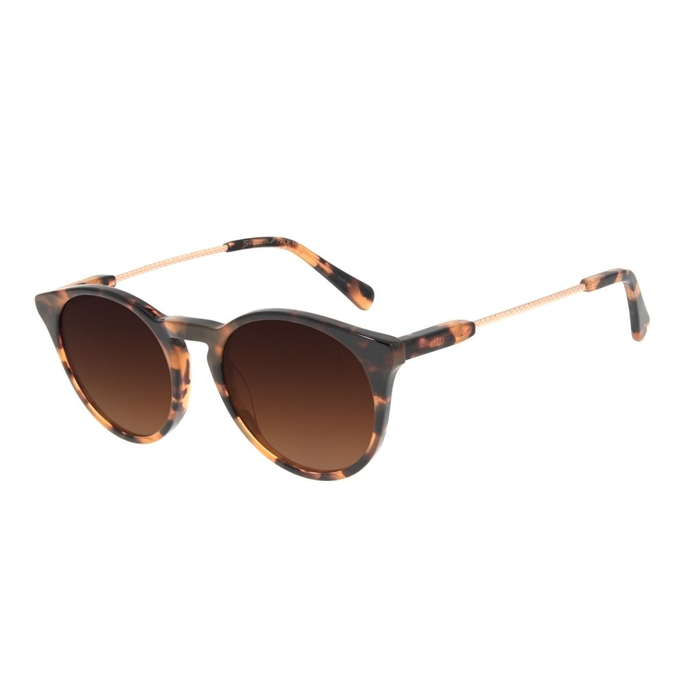 Óculos de Sol Feminino Chilli Beans Redondo Twist Tartaruga OC.CL.3048-5706