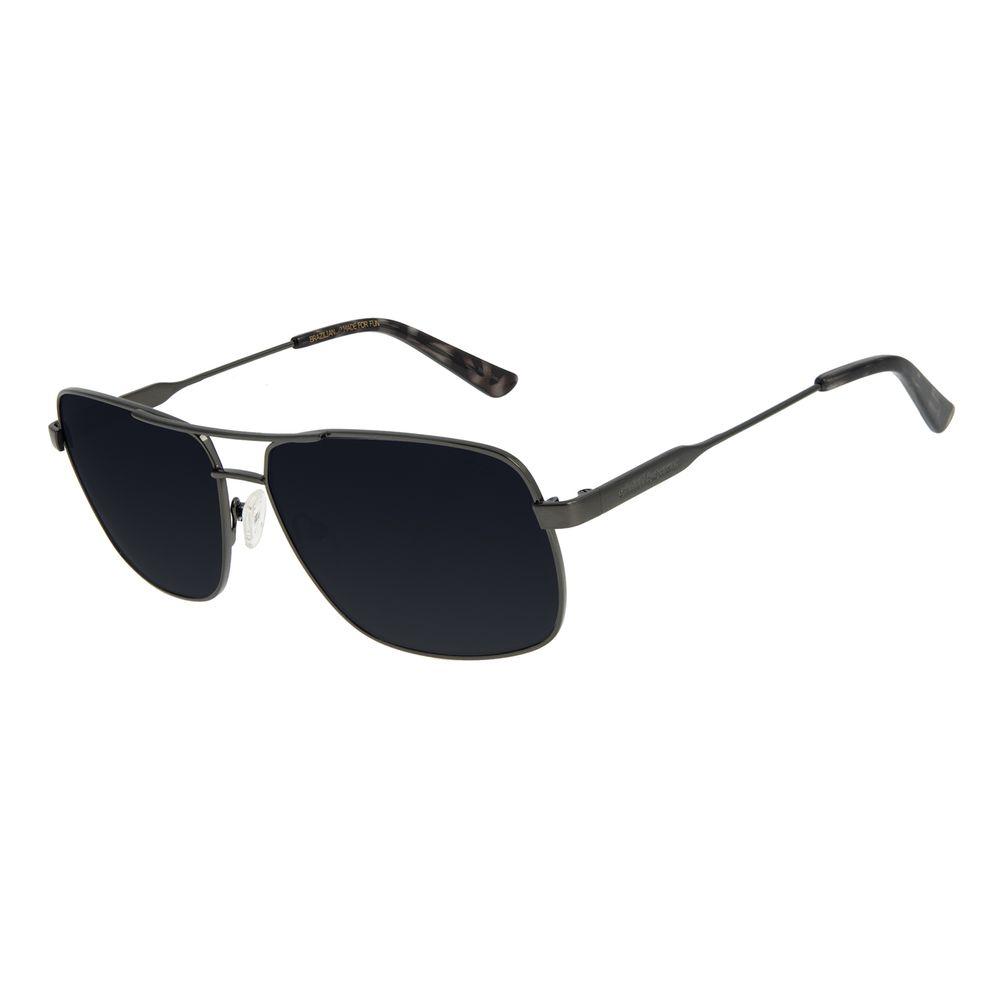 Óculos de Sol Unissex Chilli Beans Executivo Ônix OC.MT.2897-0122