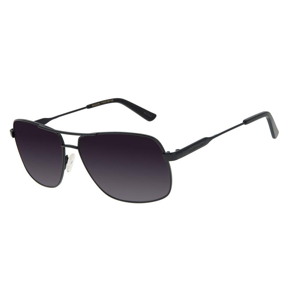Óculos de Sol Unissex Chilli Beans Executivo Degradê Preto OC.MT.2897-2001