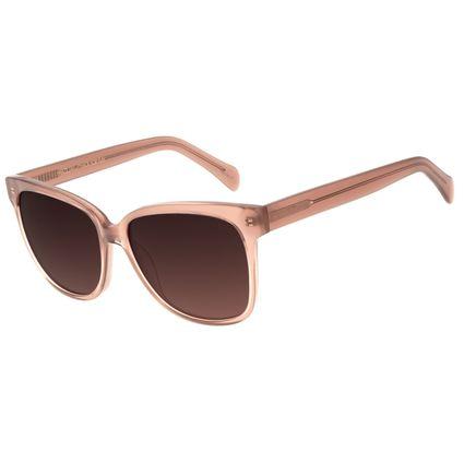 Óculos de Sol Feminino Chilli Beans Quadrado Casual Bege OC.CL.3049-5723