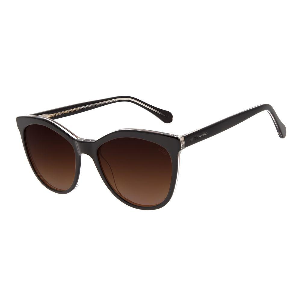 Óculos de Sol Feminino Chilli Beans Quadrado Classic Marrom OC.CL.3050-5702