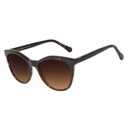 Óculos de Sol Feminino Chilli Beans Quadrado Classic Tartaruga OC.CL.3050-5706