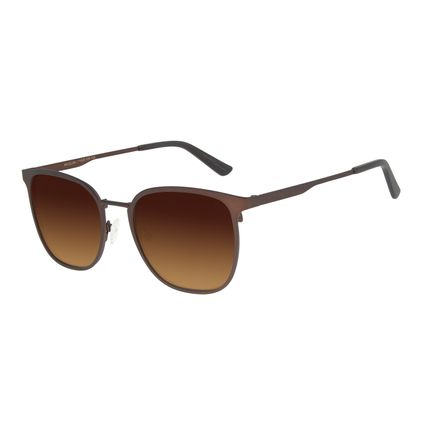 Óculos de Sol Unissex Chilli Beans Executivo Marrom OC.MT.2887-5702