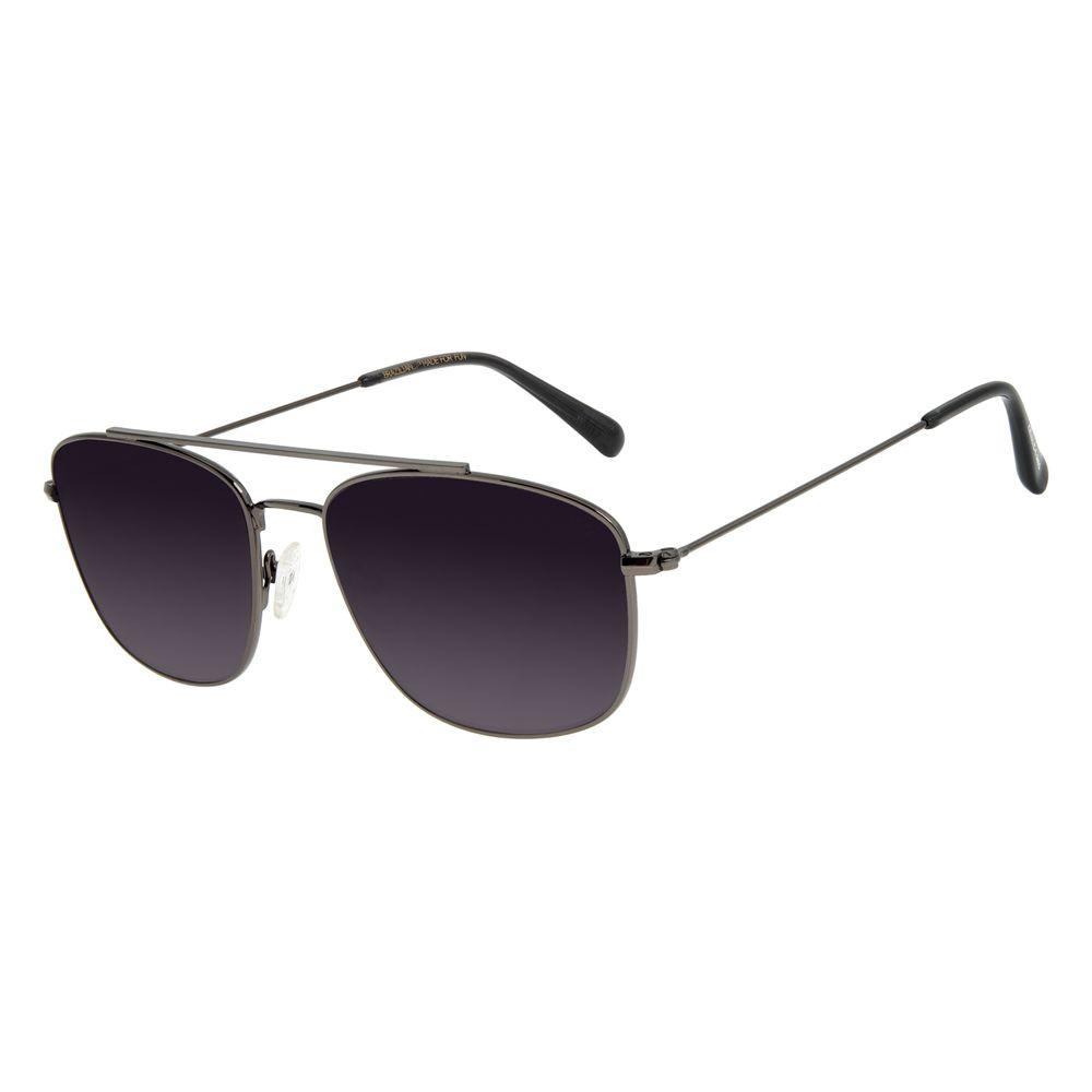Óculos de Sol Unissex Chilli Beans Executivo Ônix OC.MT.2886-2022