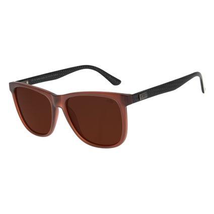 Óculos de Sol Masculino Chilli Beans Bossa Nova Polarizado Vermelho OC.CL.3092-0216