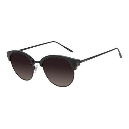Óculos de Sol Feminino Chilli Beans Redondo Preto OC.MT.2864-2001