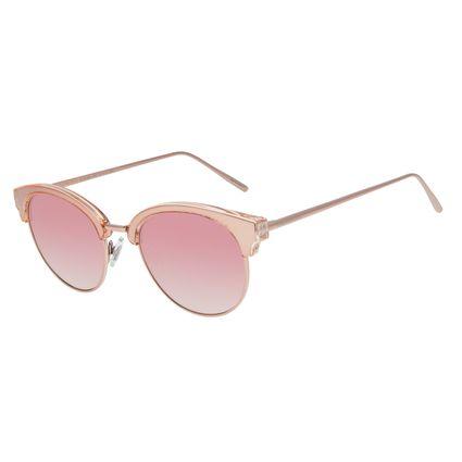 Óculos de Sol Feminino Chilli Beans Redondo Rosé OC.MT.2864-9595