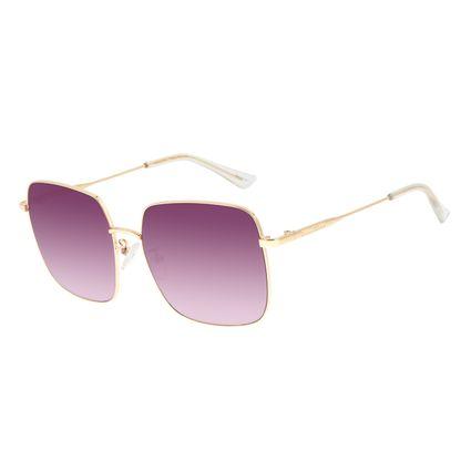 Óculos de Sol Feminino Lollapalooza Brasil Maxi Macth Roxo OC.MT.2819-1421