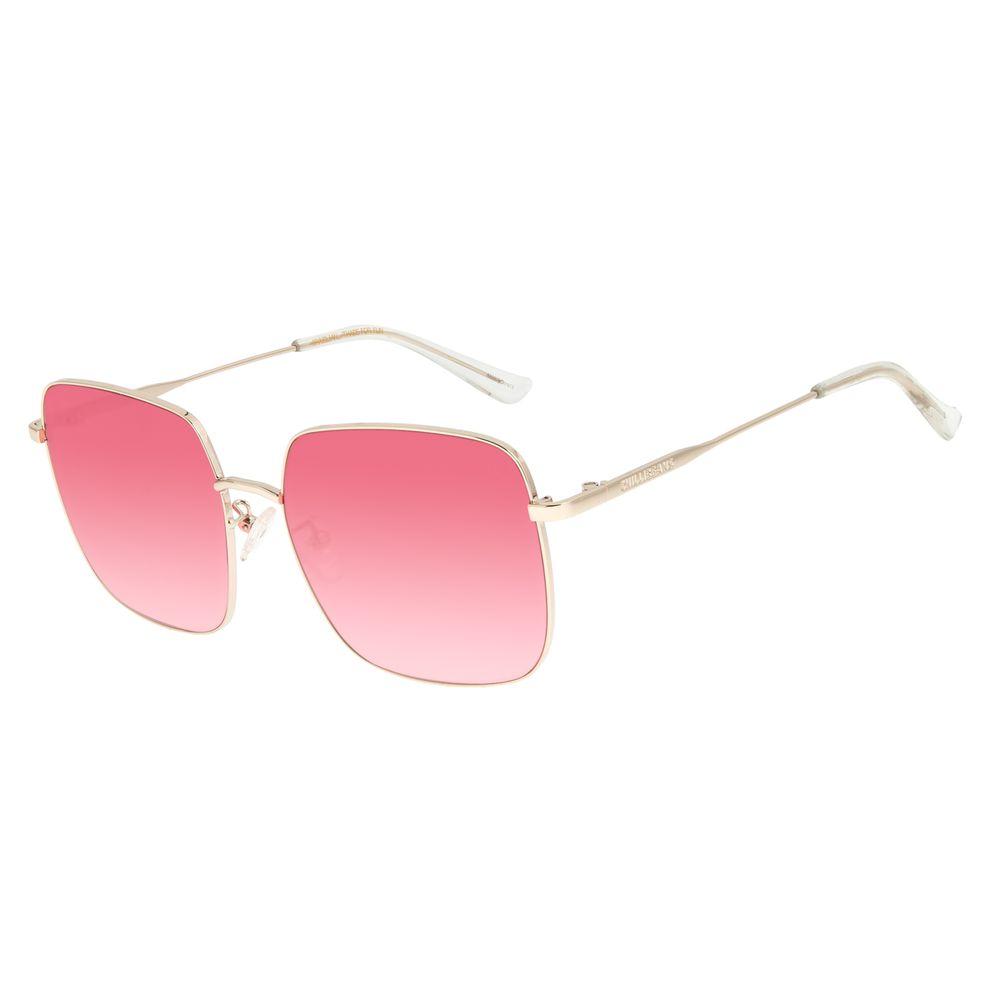 Óculos de Sol Feminino Lollapalooza Brasil Maxi Macth Vermelho OC.MT.2819-1621
