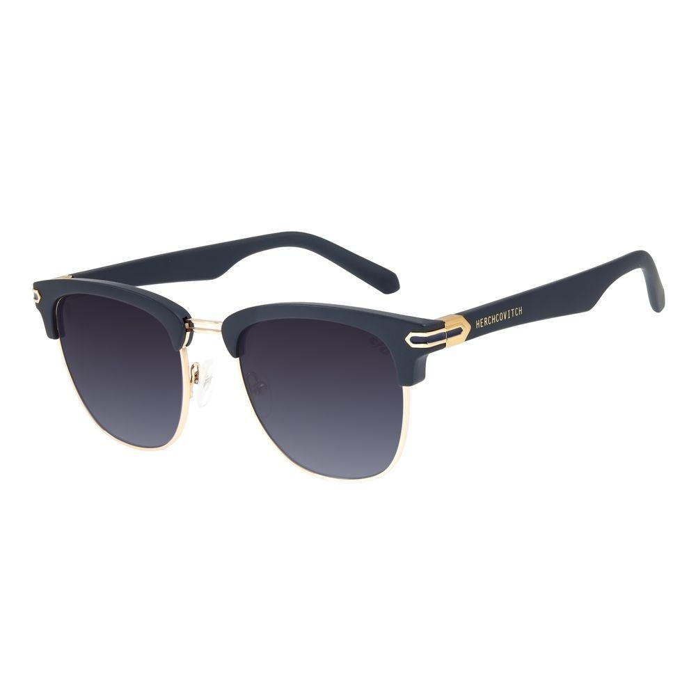 Óculos de Sol Unissex Alexandre Herchcovitch Jazz Azul OC.CL.3139-2008