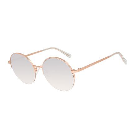 Óculos De Sol Feminino Feminino Chilli Beans Banhado A Ouro Espelhado OC.MT.2782-3295
